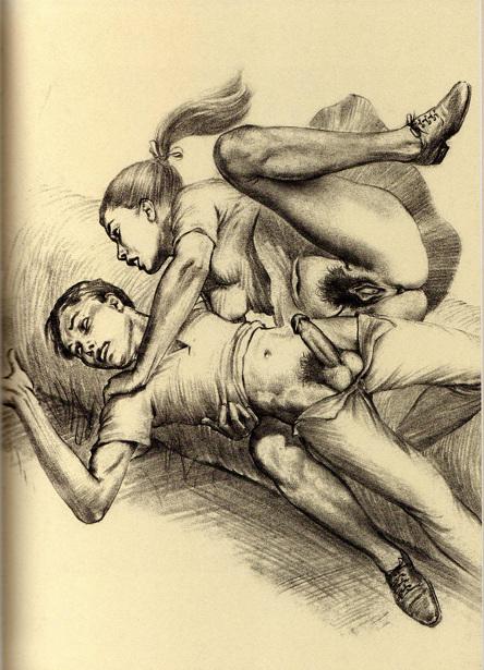 Vintage porno xxx illustrations