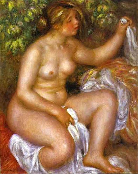 After The Bath 1910