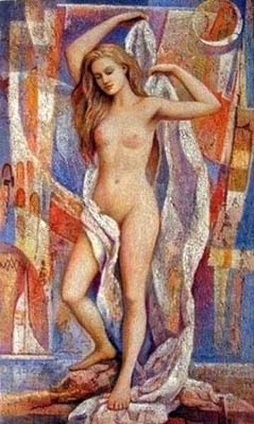 Composizione con nudo 3
