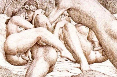инцест порно рисунки  Эрокомиксы