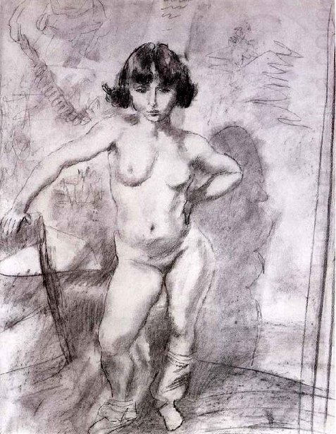 Naked Maiden Meludina