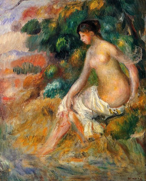 Nude In The Greenery