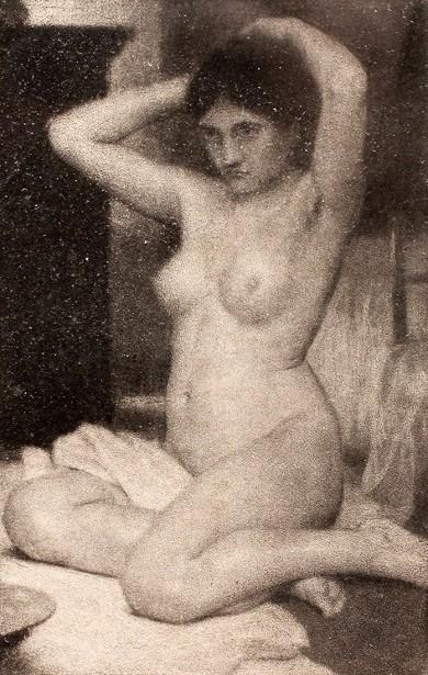 Max Pietschmann 1865  1952, German  La Conchiglia Di Venere-2368
