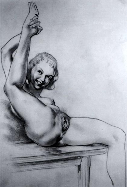 эро рисунок
