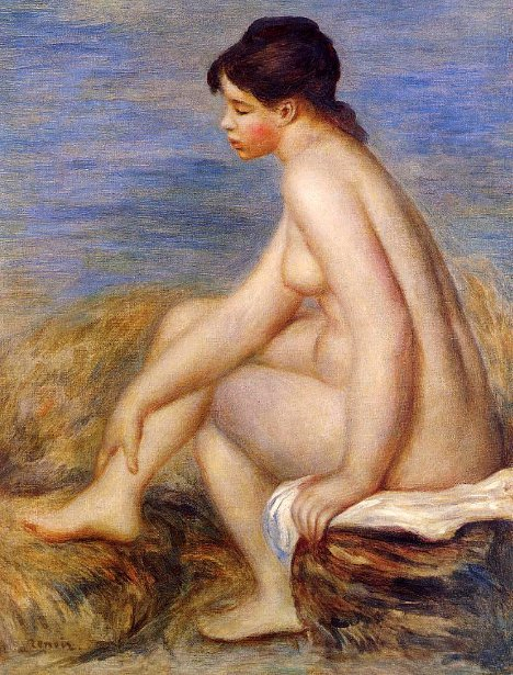 Seated Bather 22