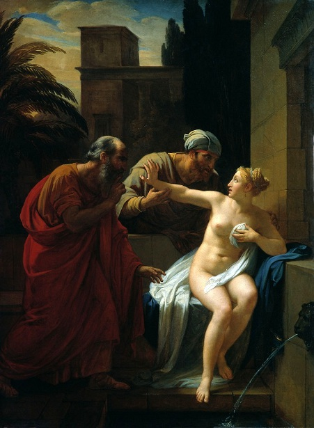 Susanna Caught By The Elders In The Bath