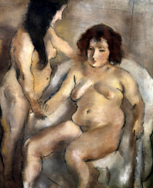 Two Nude Women