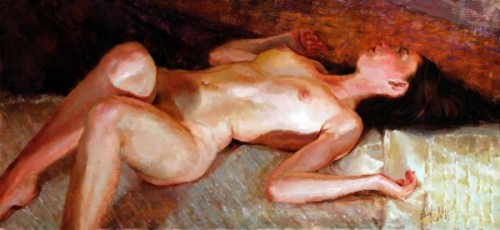 Woman In Repose