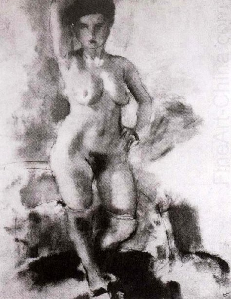 Woman With Big Breasts