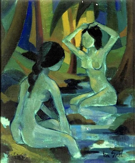 Women Bathing