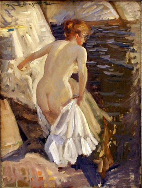 A Study after Anders Zorn
