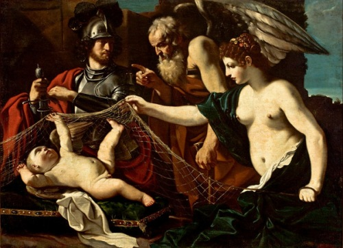 An Allegory With Venus, Mars, Cupid And Crono