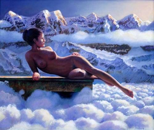 Ernesto Arrisueño 1957 - Peruvian-born Australian painter -