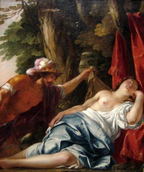 Mars And The Vestal Virgin