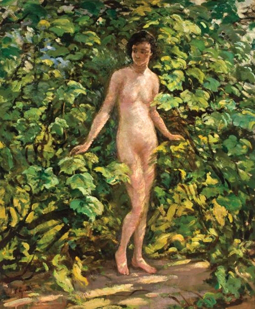 Nude In Grapevines