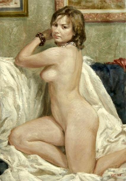 Nude On White