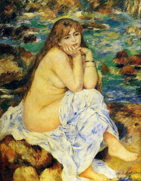 Seated Nude - Seated Bather