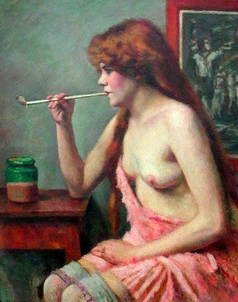 Femme à la pipe