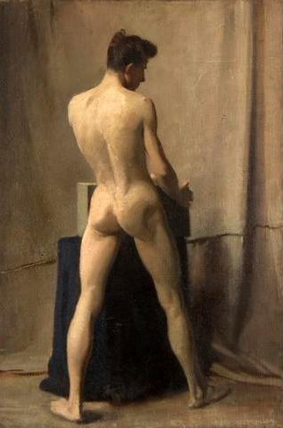 Male Nude In A Studio
