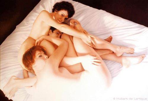 3 French Girls à New York