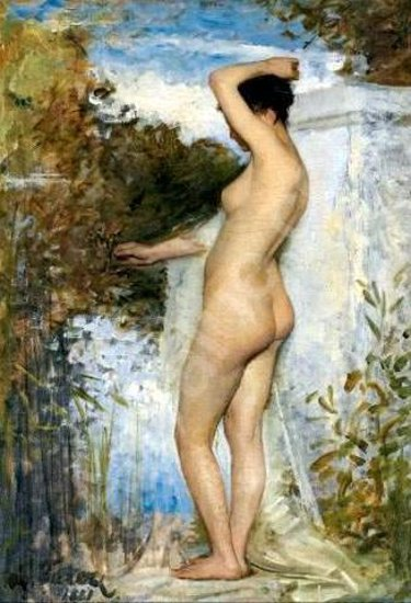 Bather In A Landscape