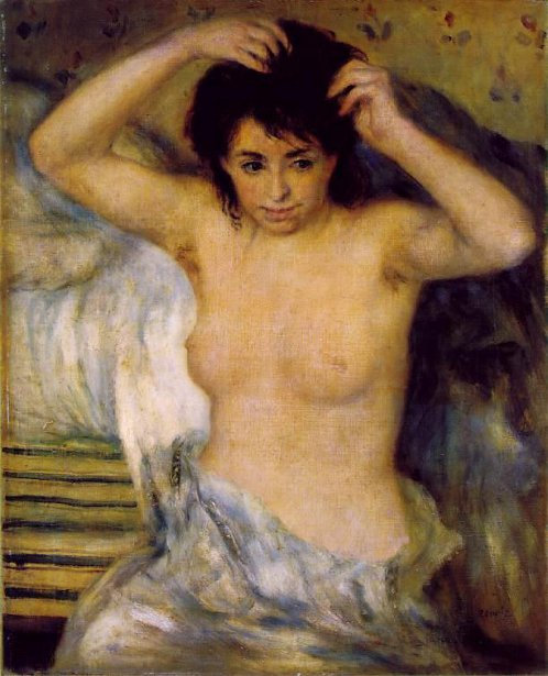 Bust Of A Woman - Before The Bath