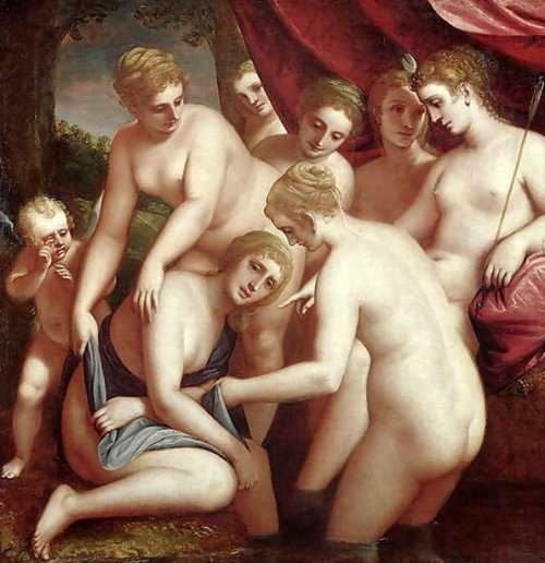 Diana Discovering The Pregnancy Of Callisto