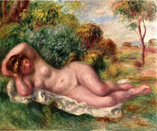 Reclining Nude - The Baker's Wife