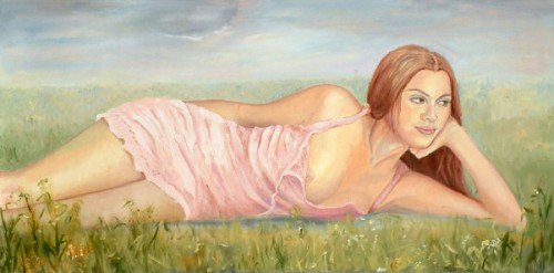 Resting In The Meadow