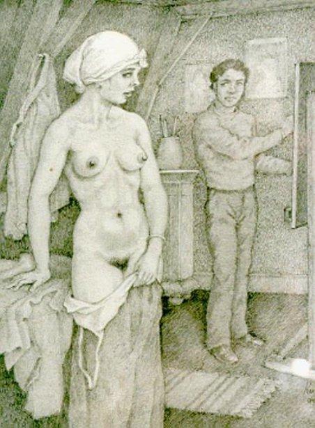 The Artist's Model