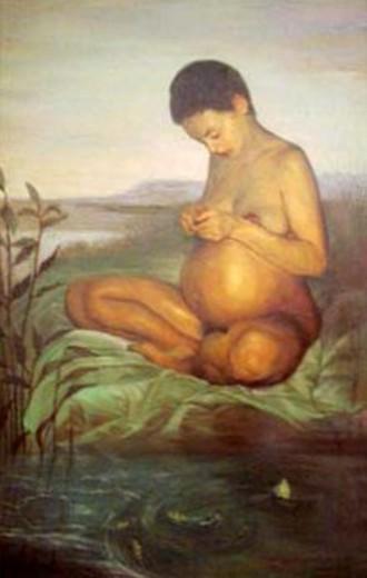 Erbandé Gloria embarazada