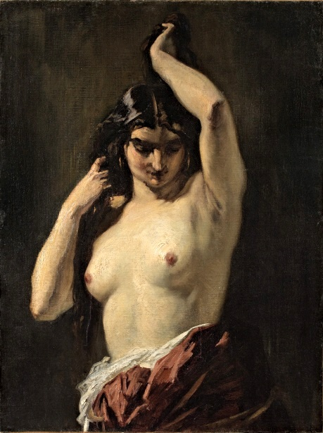 La Gitane aux seins nus