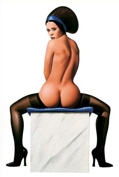 Pin-Up In Nylons