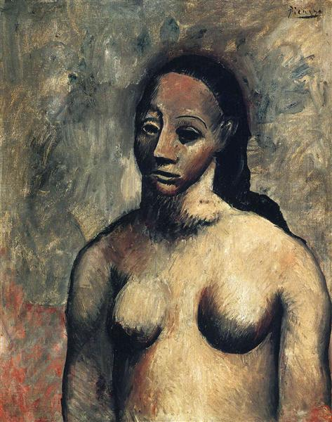 Bust Of Nude Woman