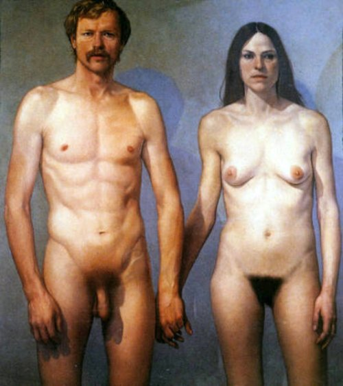 Double Nude (William And Diana)