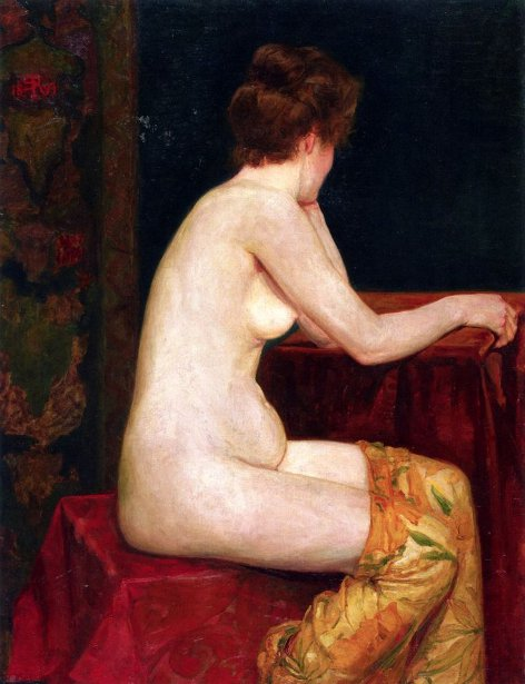Female Sitting Nude