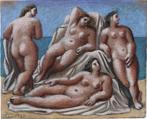 Group Of Female Nudes