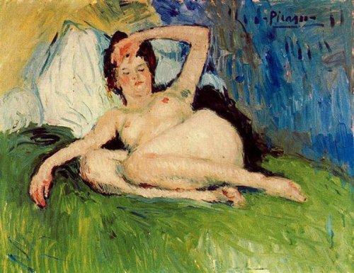 Jeanne (Reclining Nude)