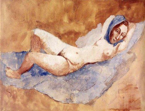 Reclining Nude - Fernande
