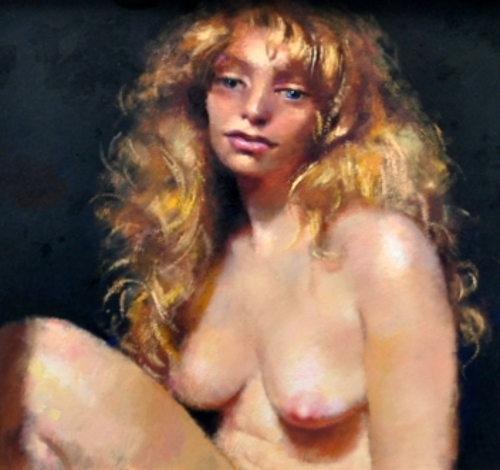 Study Of Blonde Girl