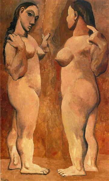 Two Nude Women