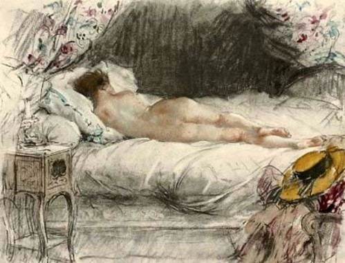 A Sleeping Nude