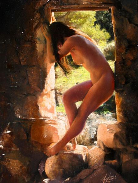 Arched In Doorway