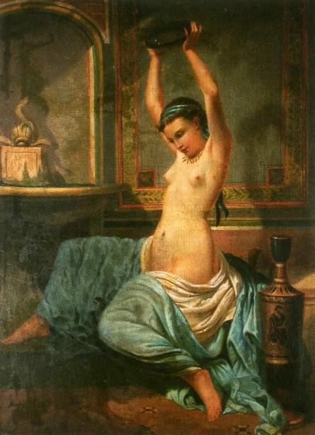 L'odalisque à la grecque