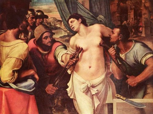 Martirio di Sant'Agata (Martyrdom Of St. Agatha)