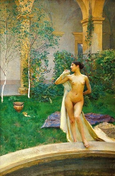 Nude In The Garden