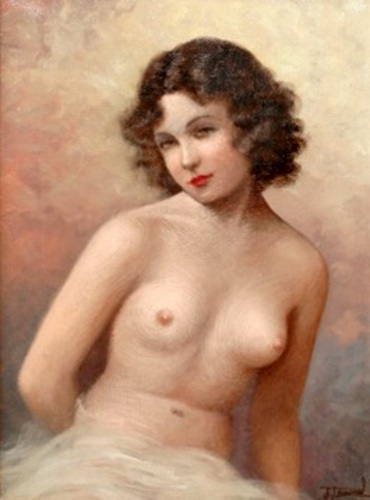 Semi-Nude Female Figure