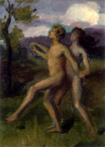 Couple In Landscape