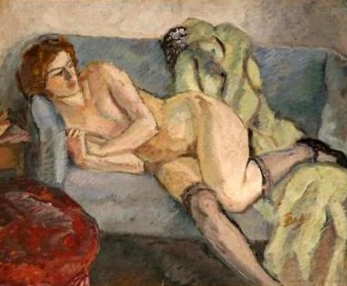 Lady On The Couch