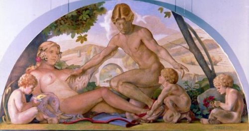 Venus And Adonis United By Love